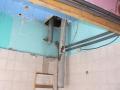 Nieuw plafond badkamer 1