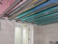 Nieuw plafond badkamer 2